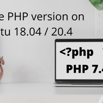 Upgrade php version on ubuntu