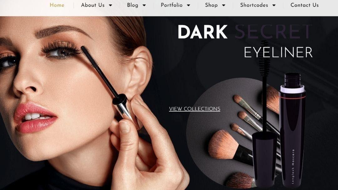 Iniya - Beauty Store, Cosmetic Shop WordPress Theme