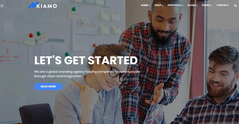 Kiamo - Best Business Service WordPress Theme