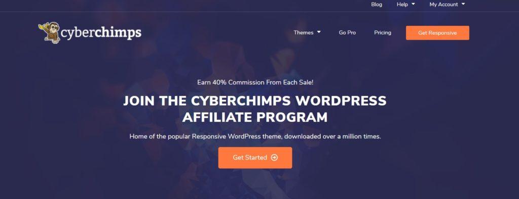 CyberChimps WordPress on Affiliate Program