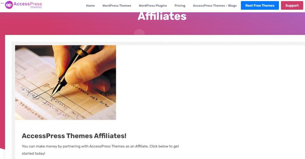 AccessPress on Themes Affiliate Program